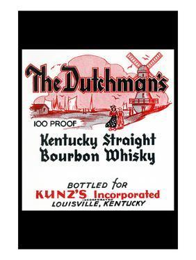 The Dutchman's Kentucky Straight Bourbon Whiskey