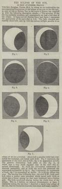 The Eclipse of the Sun, as Seen at Hyeres, France