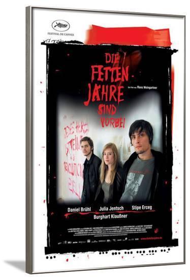 The Edukators - German Style--Framed Poster