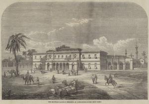 The Egyptian Railway Terminus at Alexandria