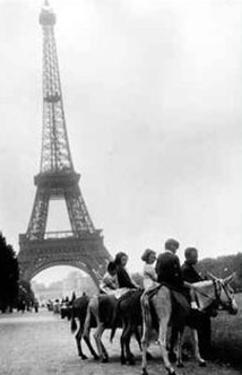The Eiffel Tower, 1960's