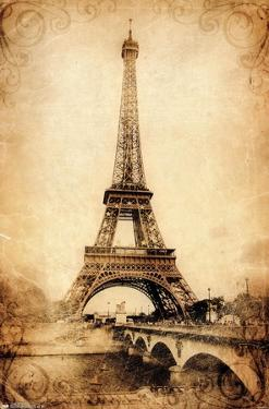 The Eiffel Tower - Rustic