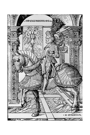 'Portrait of the Emperor Maximilian', 1518