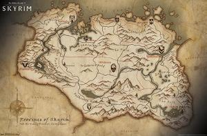 The Elder Scrolls V: Skyrim - Map