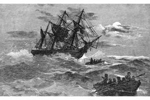 The 'Endeavour' on the Reef, Australia, 1770