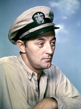 THE ENEMY BELOW by DickPowell with Robert Mitchum, 1957 (photo)