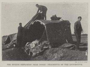 The Engine Explosion Near Goole, Fragments of the Locomotive