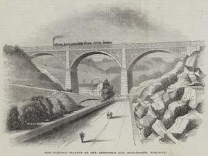The Etheron Viaduct on the Sheffield and Manchester Railway