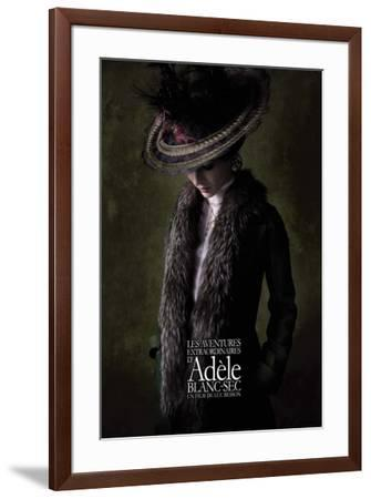 The Extraordinary Adventures of Adele Blanc-Sec - French Style--Framed Poster