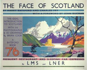 The Face of Scotland, LMS/LNER, c.1935