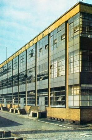 The Fagus Shoe Factory, designed by Walter Gropius
