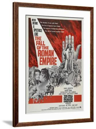 The Fall of the Roman Empire--Framed Poster