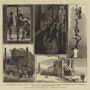 The Fatal Explosion at Seaham Colliery