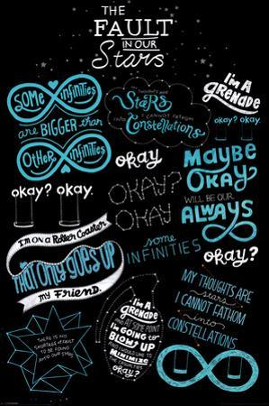 The Fault in our Stars -Typography