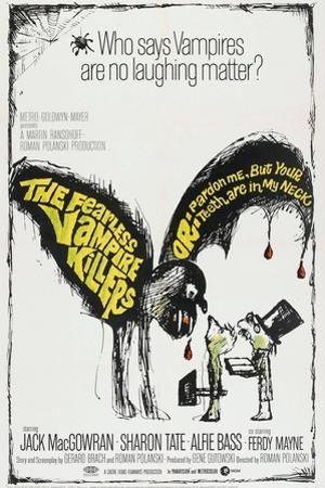 The Fearless Vampire Killers, US poster, 1967