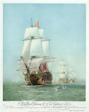 The First Journey of ?Victory,' 1778