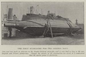 The First Submarine for the German Navy