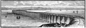 The First Tay Bridge from the South, Scotland, 1900
