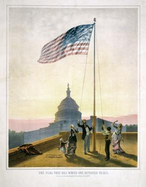 The Flag That Has Waved for One Hundred Years