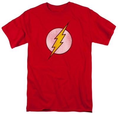 The Flash - Distressed Logo