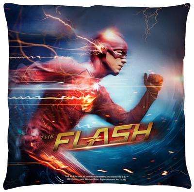 The Flash - Fastest Man Throw Pillow