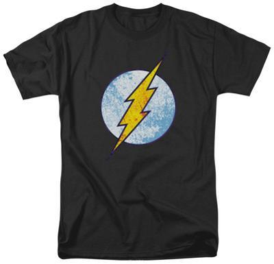 The Flash - Flash Neon Distress Logo