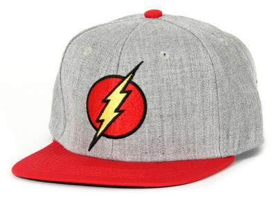 The Flash- Logo Snapback