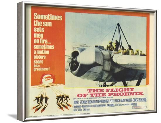 The Flight of the Phoenix, 1966--Framed Art Print