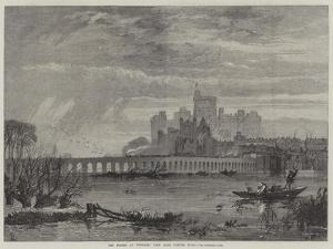 The Floods at Windsor, View from Clewer Road