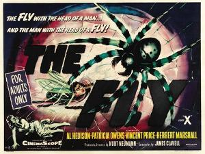 The Fly, UK Movie Poster, 1958