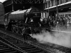 The Flying Scotsman 1973 Victoria Station Manchester