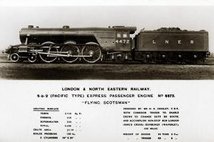 The 'Flying Scotsman' Steam Locomotive, 20th Century