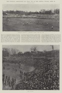 The Football Association Cup Final Tie at the Crystal Palace, 20 April