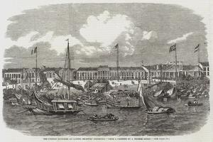 The Foreign Factories at Canton, Recently Destroyed