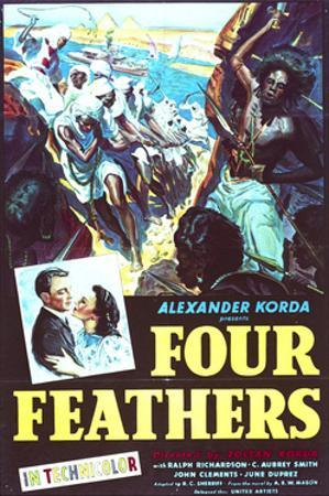 The Four Feathers - Movie Poster Reproduction