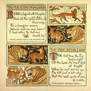 The Fox and the Mosquitoes the Fox and the Lion
