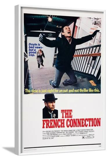The French Connection--Framed Art Print