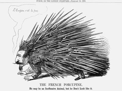 The French Porcupine, 1859