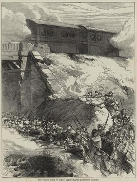 The French Siege of Paris, Armour-Plated Locomotive Battery