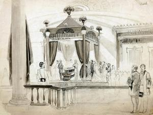 The Funeral Catafalque at Springfield