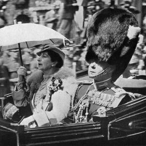 The Future King Edward VII (1894-197) and Queen Maud of Norway (1869-193), 1935
