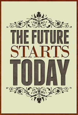 The Future Starts Today Poster