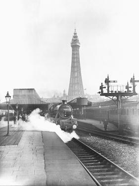 The Fylde Coast Express at Blackpool Central Station