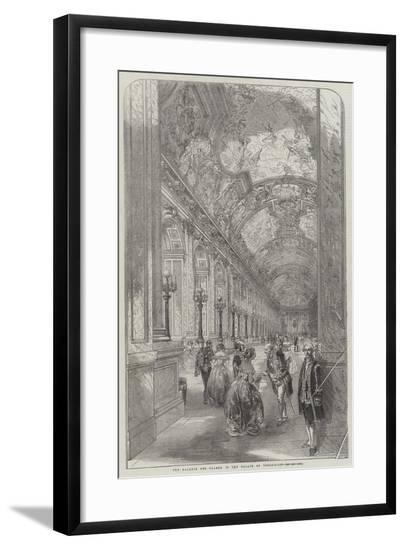 The Galerie Des Glaces, in the Palace of Versailles--Framed Giclee Print