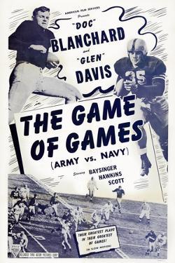 The Game of Games, from Left: Felix 'Doc' Blanchard, Glen Davis, 1940s