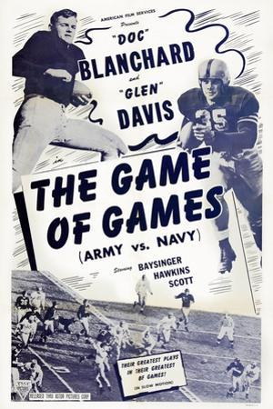 The Game of Games, from Left: Felix 'Doc' Blanchard, Glen Davis, 1940s