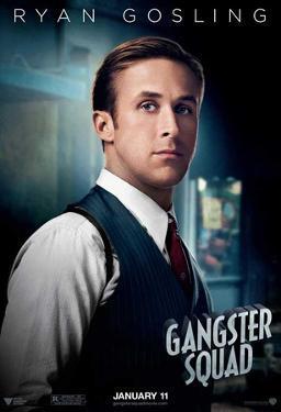 The Gangster Squad (Sean Penn, Ryan Gosling, Emma Stone) Movie Poster