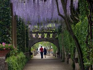 The Gardens of the Villa Cimbrone in Ravello, Amalfi Coast, Campania, Italy, Europe