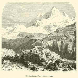 The Gaurisanker Peak, Himalaya Range