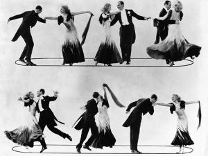 """The Gay Divorcee, Fred Astaire, Ginger Rogers in the Dance """"The Continental, """" 1934"""